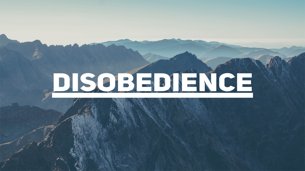 Disobedience Image